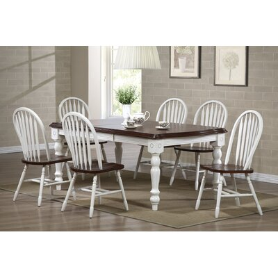 Loon Peak Lockwood Extendable Dining Table