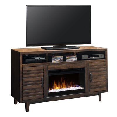 Loon Peak Calmar TV Stand with Electric Fireplace