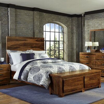Loon Peak Baltusrol Storage Panel Bed