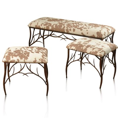 Loon Peak Bemiston 3 Piece Upholstered Be..