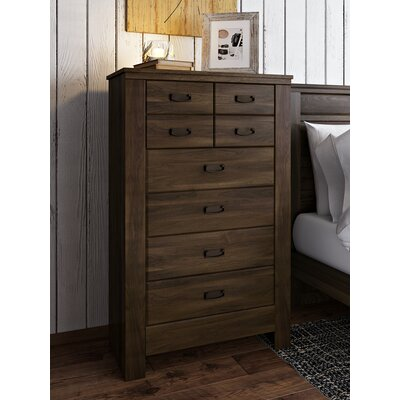 Loon Peak Flattop 5 Drawer Lingerie Chest