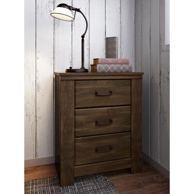 Loon Peak Flattop 2 Drawer Nightstand