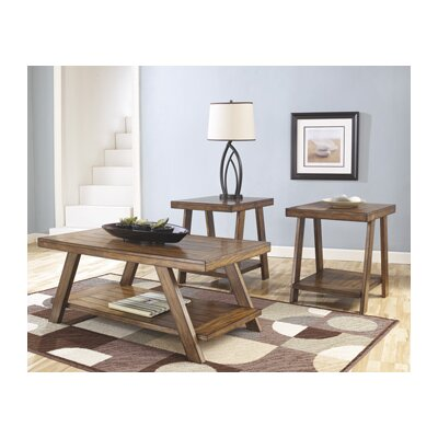 Loon Peak Carlos 3 Piece Coffee Table Set U0026 Reviews | Wayfair