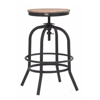 Trent Austin Design Howe Adjustable Height Swivel Bar Stool