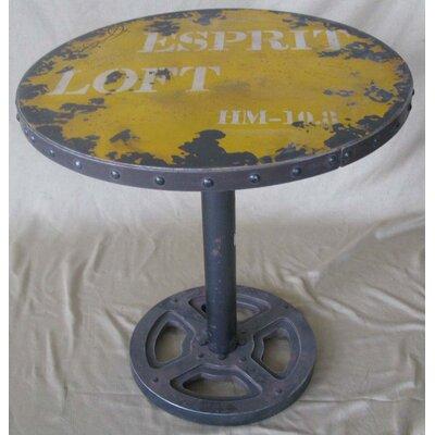 Trent Austin Design Darter Round Wheel End Table