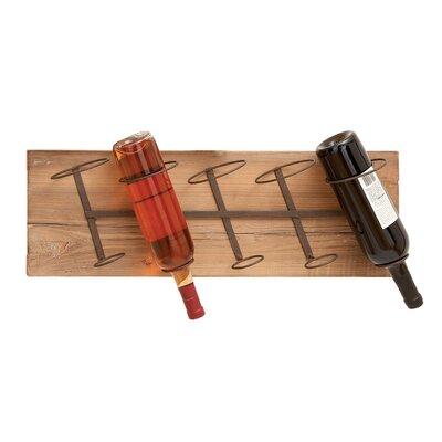 Trent Austin Design Conann 5 Bottle Wall Mounted Wine Rack