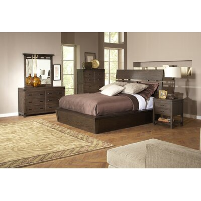 Riverside Furniture Promenade Storage Panel Customizable Bedroom Set
