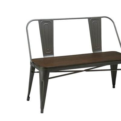 Trent Austin Design Caddo Metal Kitchen Bench