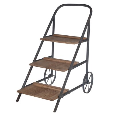 Trent Austin Design Loma Flower-Serving Cart