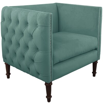 House of Hampton Nail Button Tufted Arm Chair