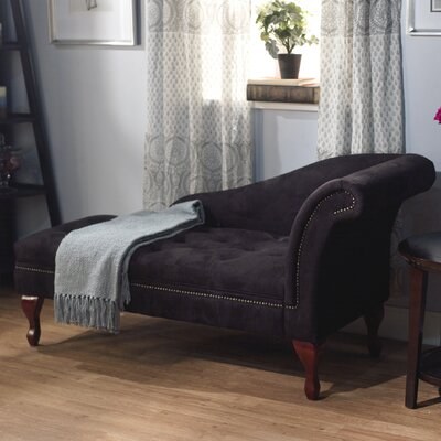 House of Hampton Vivienne Storage Spa Chaise Lo..