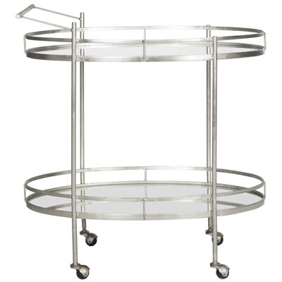 House of Hampton Dante Bar Serving Cart