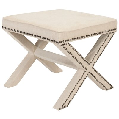 House of Hampton Tally Ottoman