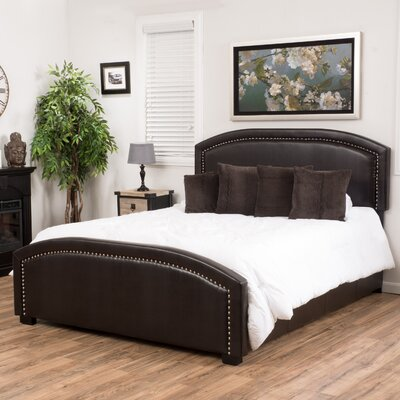 House of Hampton Jarvis Upholstered Panel Bed