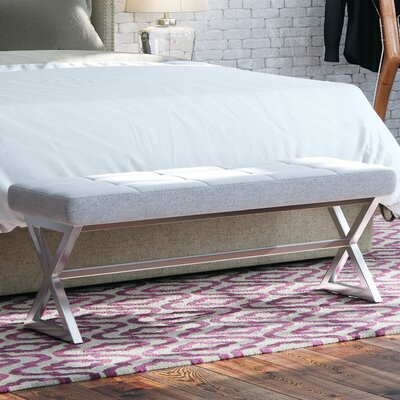 House of Hampton Jaime 2 Seat Upholstered Bench