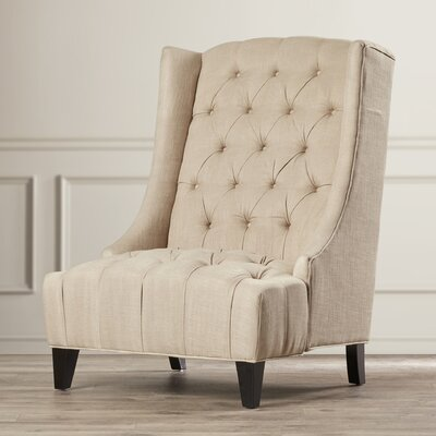 House of Hampton De Luca Wingback Arm Chair