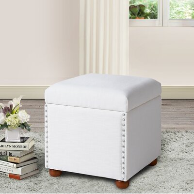 House of Hampton Lechlade Cube Ottoman