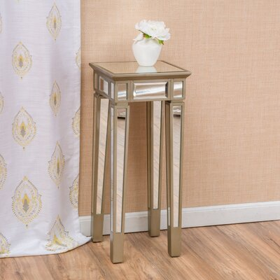 House of Hampton Margate Mirror End Table