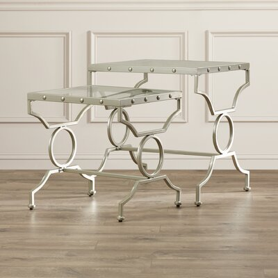 House of Hampton Rhiannon 2 Piece Nesting Tables