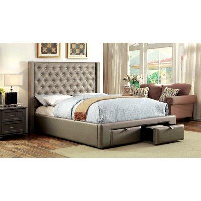 House of Hampton Skegness Upholstered Platform Bed