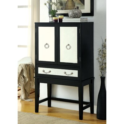 House of Hampton Otrange 6 Bottle Floor Wine Cabinet