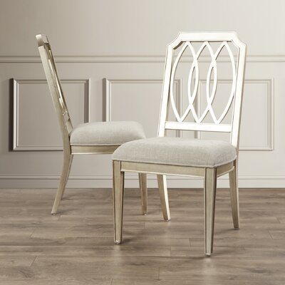 House of Hampton Vosselare Parsons Chair (Set of 2)