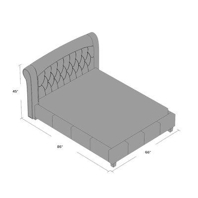 House of Hampton Upholstered Platform Bed
