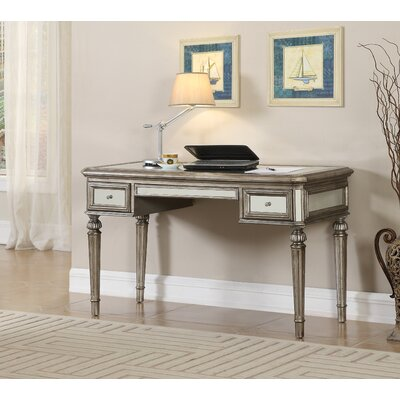 House of Hampton Paula Writing Desk with 2 Drawers