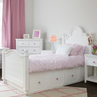Craft Kids Furniture Sydney Twin Panel Bed with Storage