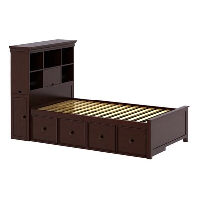 Craft Kids Furniture Boston Twin Panel Bed with Storage