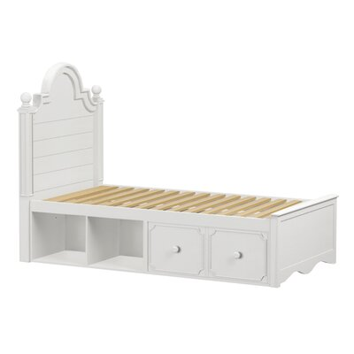 Craft Kids Furniture Adelaide Twin Panel Bed with Storage