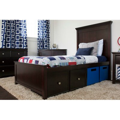 Craft Kids Furniture London Twin Panel Bed with Storage