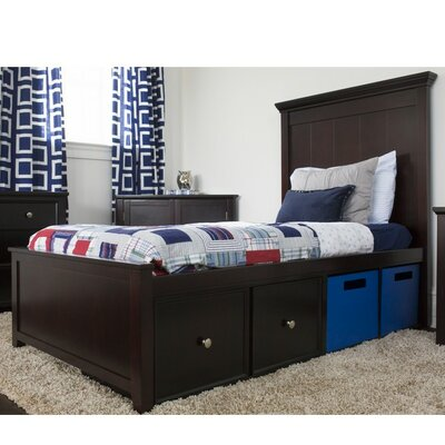 Craft Kids Furniture Boston Twin Panel Bed with ..