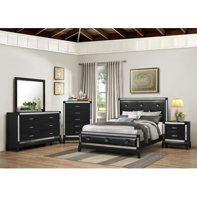 House of Hampton Simmons Casegoods Smethwick Panel Customizable Bedroom Set