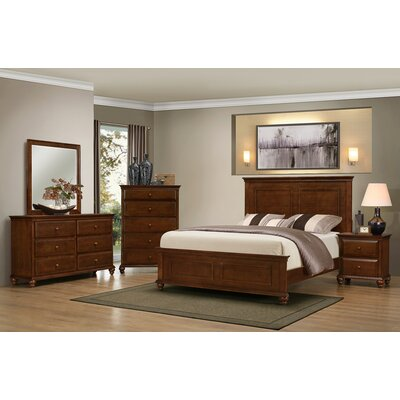 Three Posts Allenport Panel Customizable Bedroom..