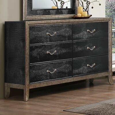Mercer41 Landis 6 Drawer Dresser by Simmons Casegoods