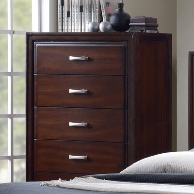 Alcott Hill Barwood 6 Drawer Chest by Simmons Casegoods