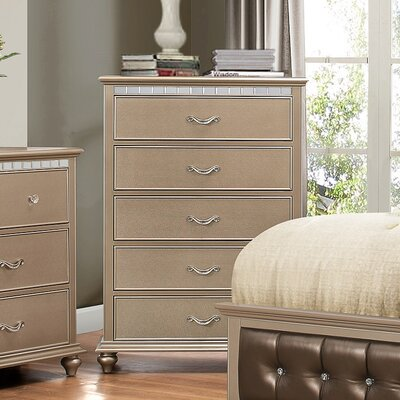 Simmons Casegoods Hollywood 5 Drawer Chest