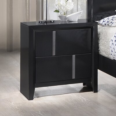 Simmons Casegoods Buckhead 2 Drawer Nightstand