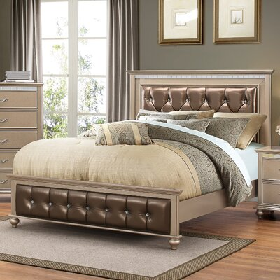 Simmons Casegoods Hollywood Upholstered Panel Bed