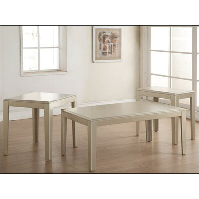House of Hampton Pasolini 3 Piece Coffee Table Set by Simmons Casegoods