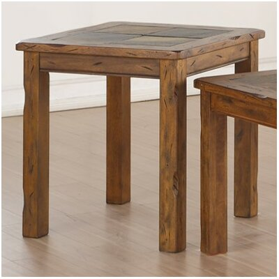 Loon Peak Fraser End Table by Simmons Casegoods