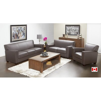 Lind Furniture Top Grain Leather Living Room Co..