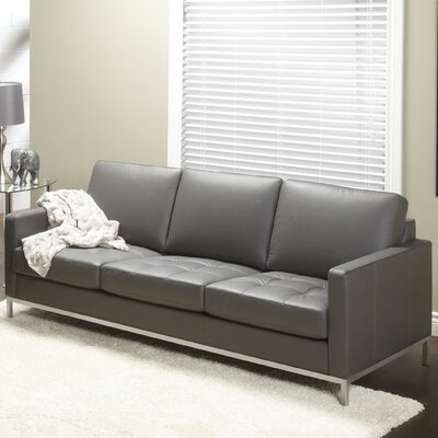 Lind Furniture Regency Top Grain Leather Sofa