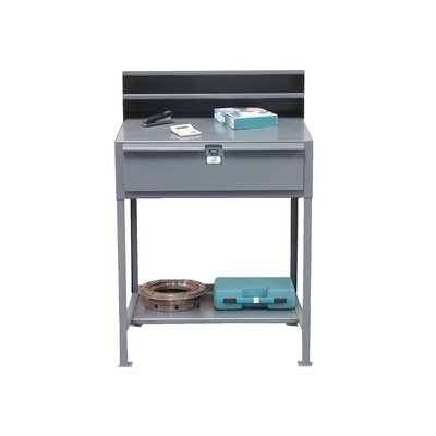 Strong Hold Products Shipping and Receiving Desk with Drawer