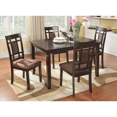 Roundhill Furniture Inworld 5 Piece Dining Set