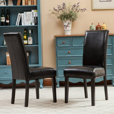 Roundhill Furniture Donatello Parsons Chair (Set of 2)