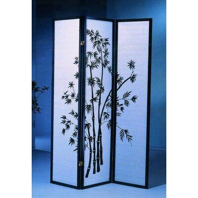 Roundhill Furniture 71 X 54 Bamboo 3 Panel Room Divider Reviews Wayfair