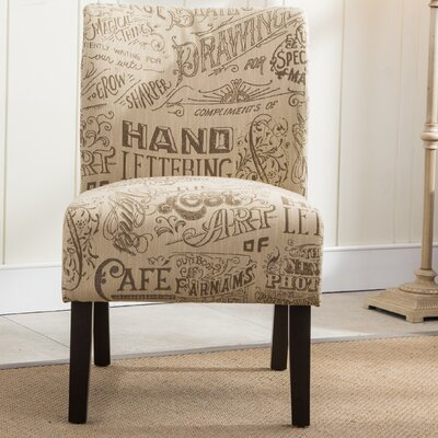 Roundhill Furniture Capa Chalkboard Slipp..
