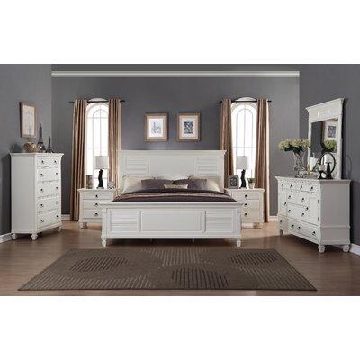 Roundhill furniture regitina panel 6 piece bedroom set - Everybody loves raymond bedroom set ...
